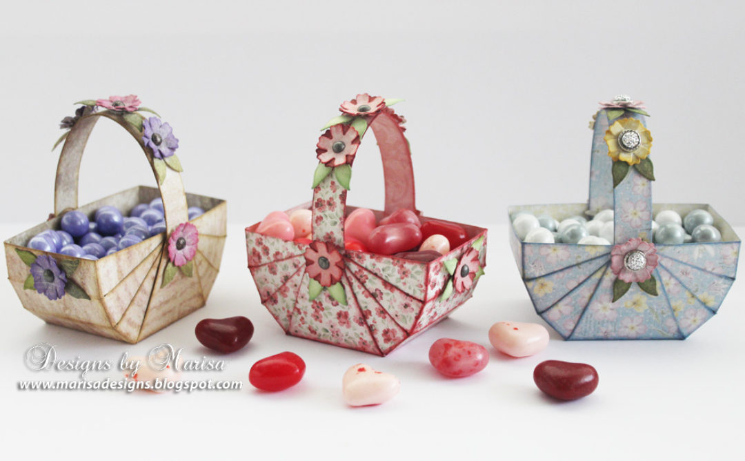 Candy Baskets for Valentine's Day and Easter