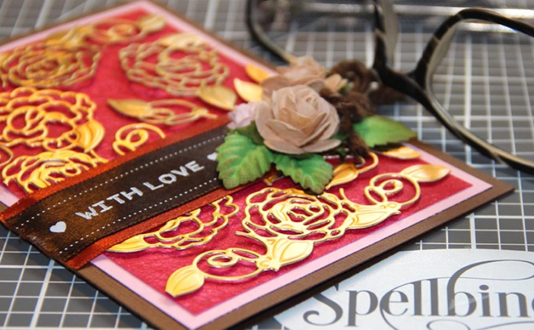 Camellia Accents With Love Card