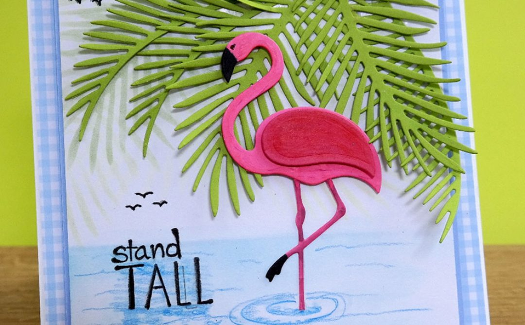 Stand Tall in Paradise Card