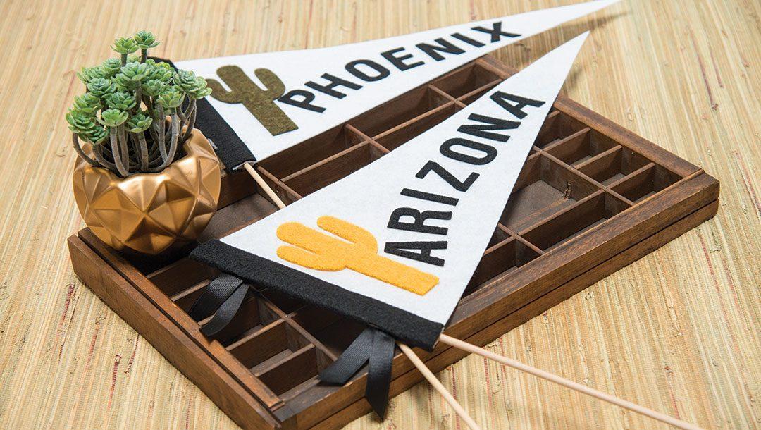 No-Sew Phoenix Pennant Tutorial - Spellbinders