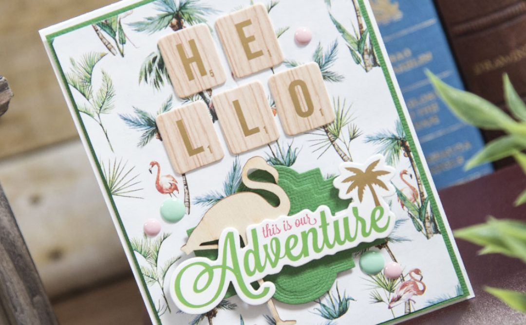 This Is Our Adventure Card, July Card of the Month
