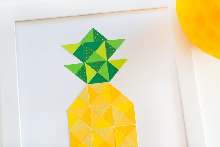 Quilt It Pineapple Print Step 5