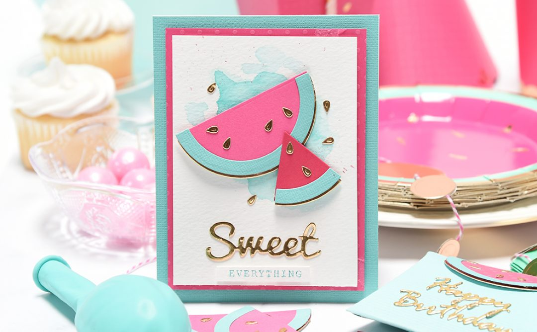 Creative DIY Party Decor Series | So Sweet Watermelon Birthday Party
