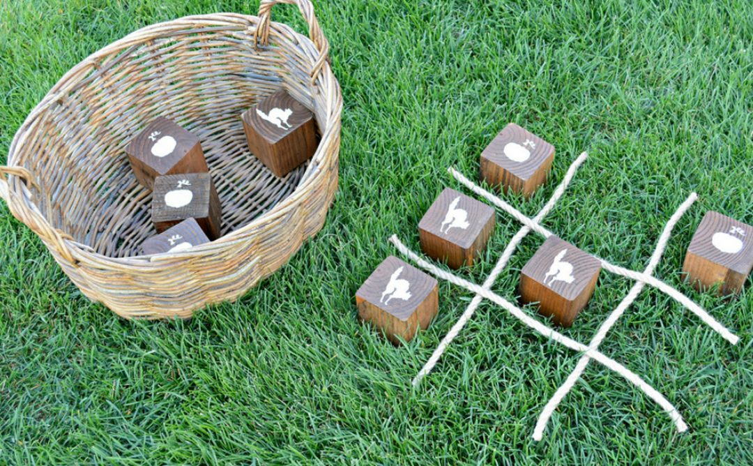 How to Create a Perfect DIY Wooden Halloween Tic Tac Toe Game