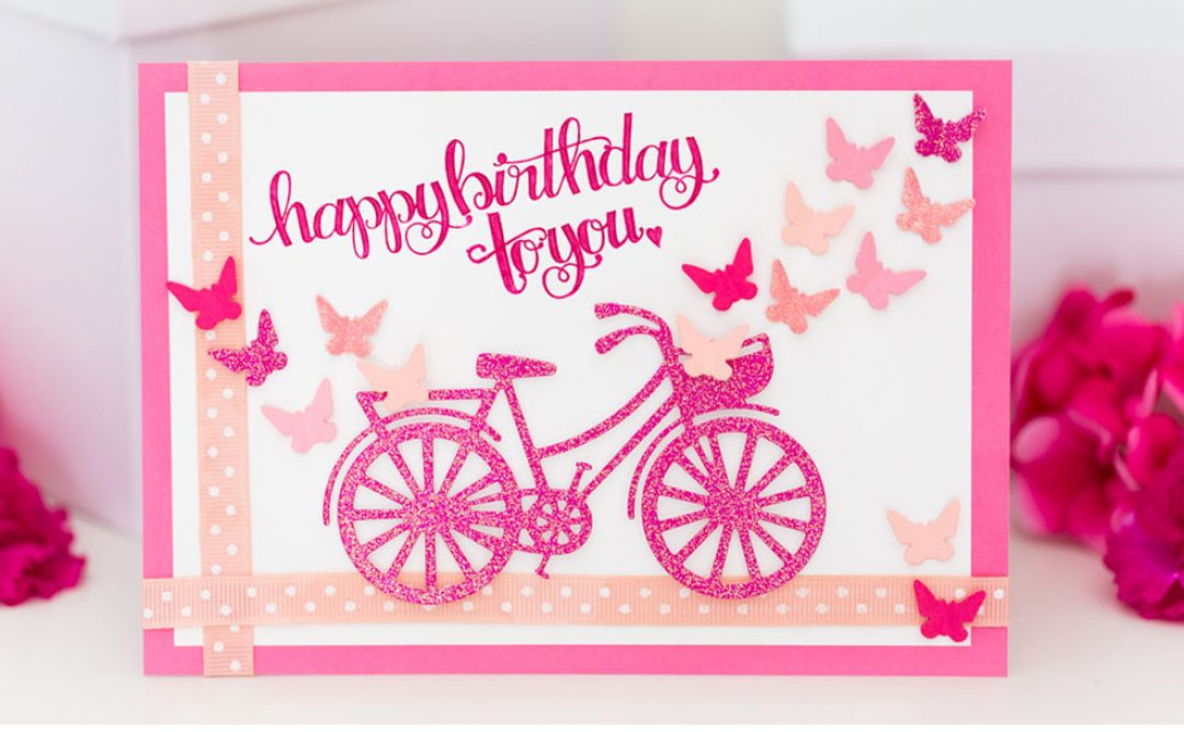 Creating a Happy Grams Personalized Birthday Card