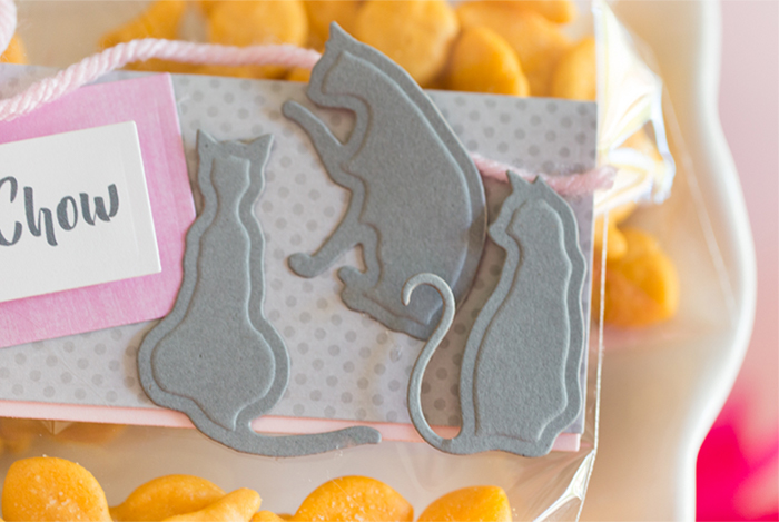 Kitty Purr-fect Party Favor Bags by All Roth for Spellbinders