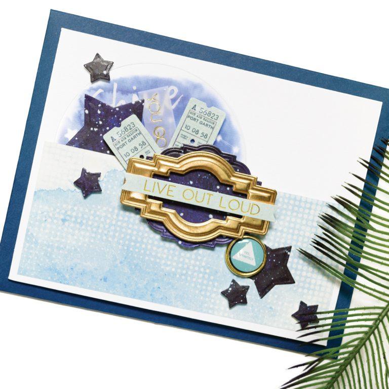 Spellbinders October 2017 Card Kit