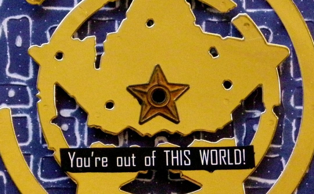Out Of This World Card with Seth Apter's New Dies