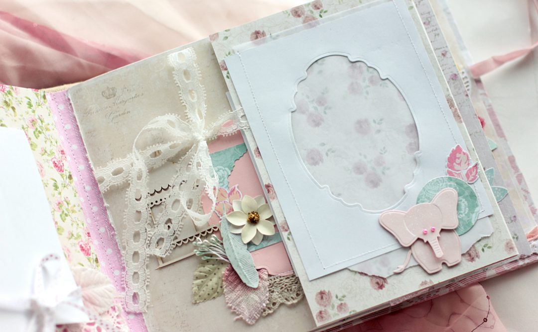 Embellish Your Mini Album with Spellbinders Dies