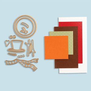 Spellbinders November 2017 Card Kit of the Month is Here!