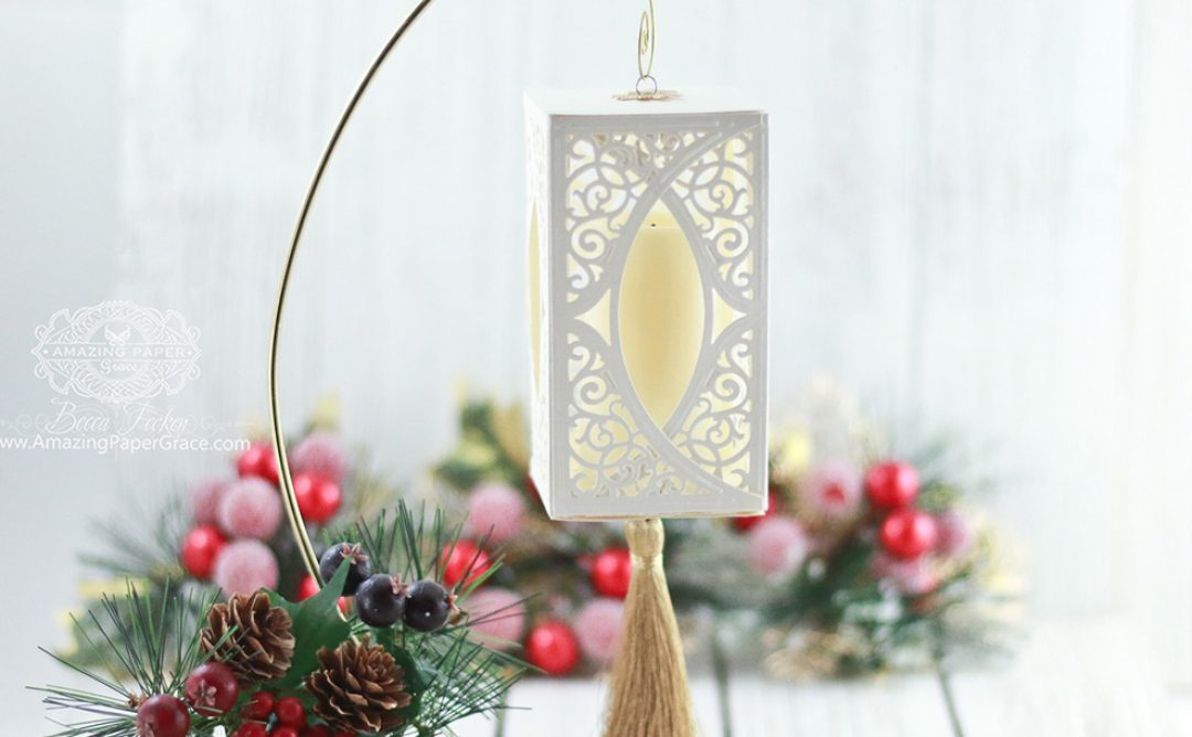 Die Cut Ornament Series: Swirl Bliss