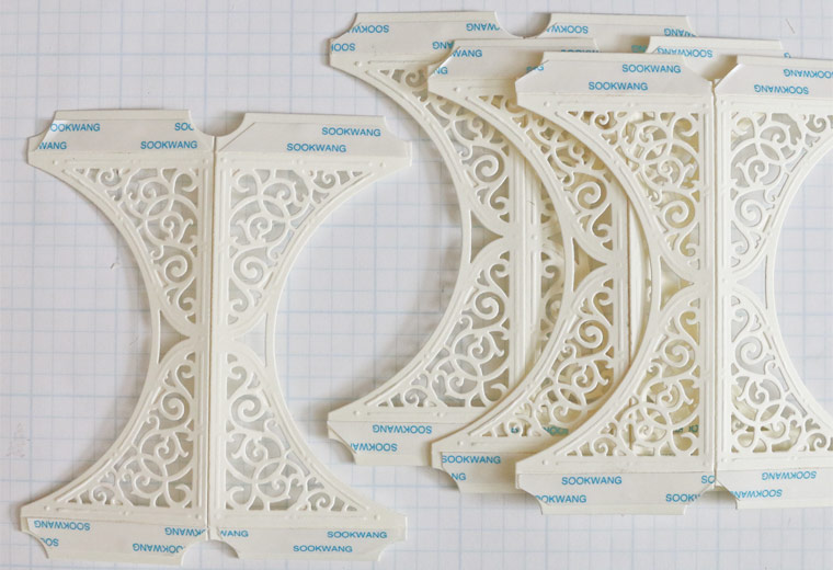 Becca Feeken of Amazingpapergrace.com - Die Cut Ornament Series - Swirl Bliss