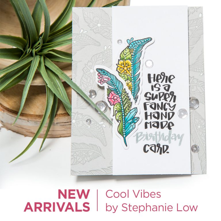 Spellbinders Cool Vibes Collection by Stephanie Low