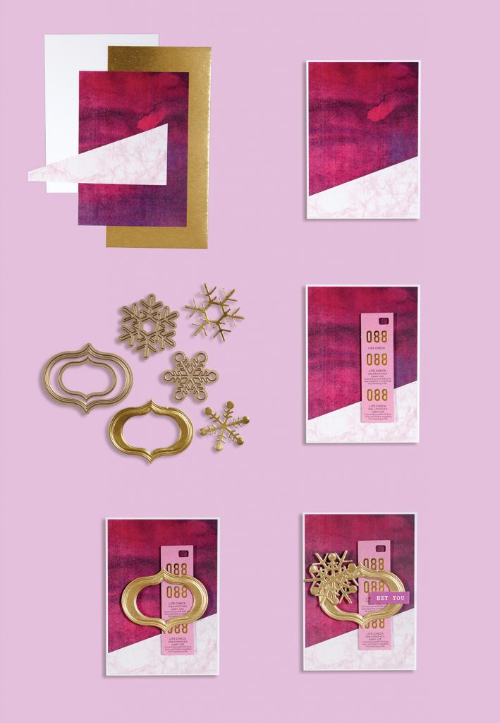 Spellbinders December 2017 Card Kit of the Month is Here!