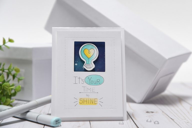 """Spellbinders Take Two: Creating Two Cards Using the Latest Collection, """"Love, Set, Match"""" by Debi Adams using Wink Wink Love Set Match by Debi Adams Stamp and Die Set #spellbinders #diecutting #stamping #cardmaking"""