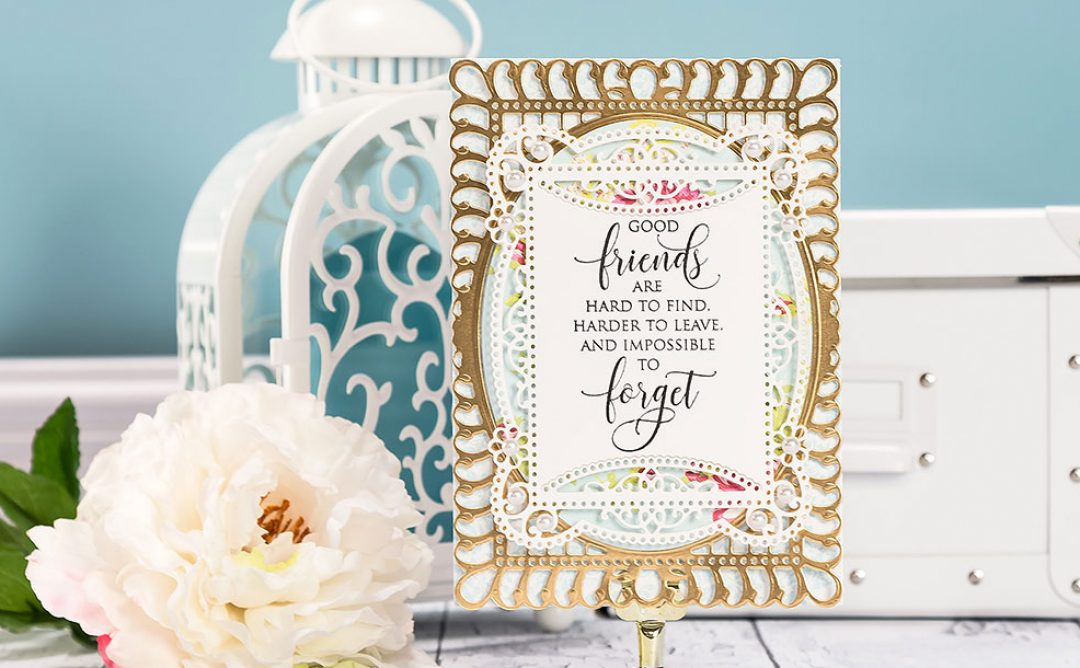 Cardmaking Inspiration | Good Friends Card