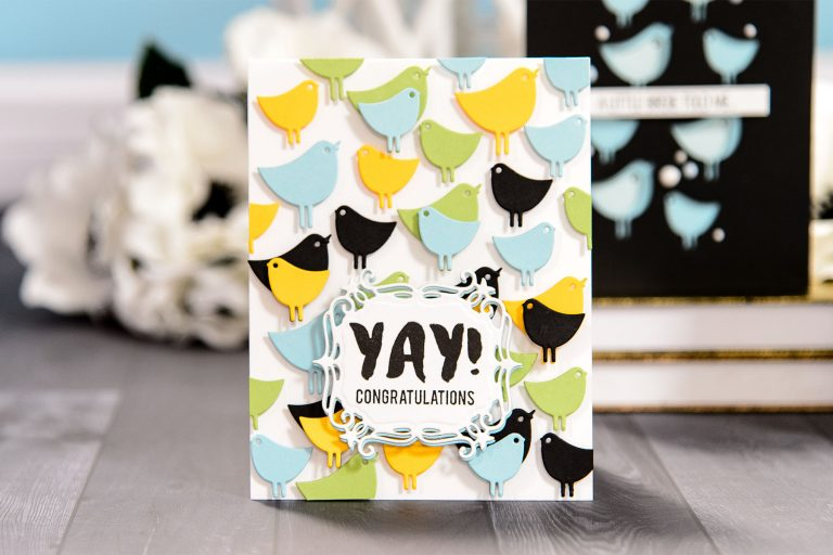 Spellbinders August 2018 Small Die of the Month is Here! #spellbinders #diecutting #neverstopmaking #spellbindersclubkits