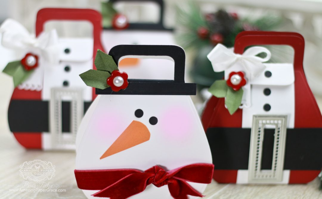 Adorable Holiday Character Gift Bags in under 10 Minutes