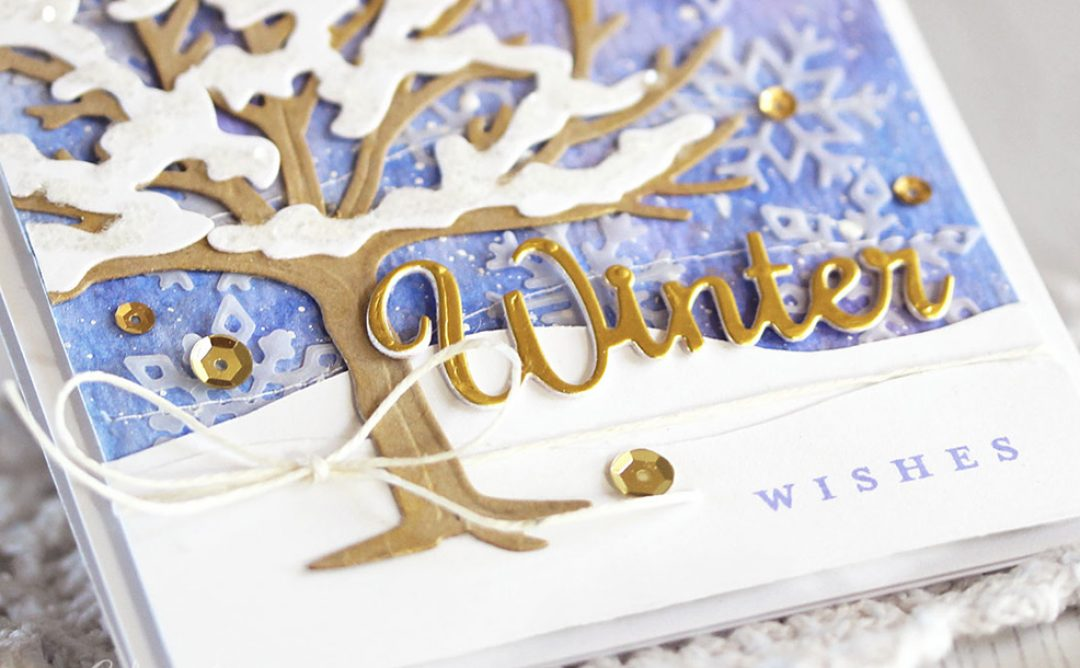Four Seasons Inspiration   Spring & Winter Cards with Laurie
