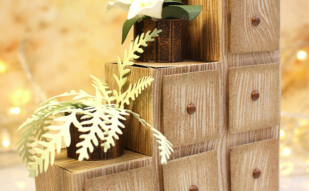 Video Friday | How to Make Paper Chest of Drawers / Flower Stand with Olga