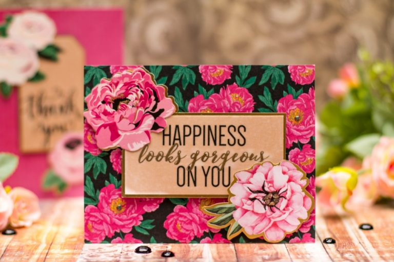 Spellbinders January 2018 Card Kit Of The Month #SpellbindersClubKits