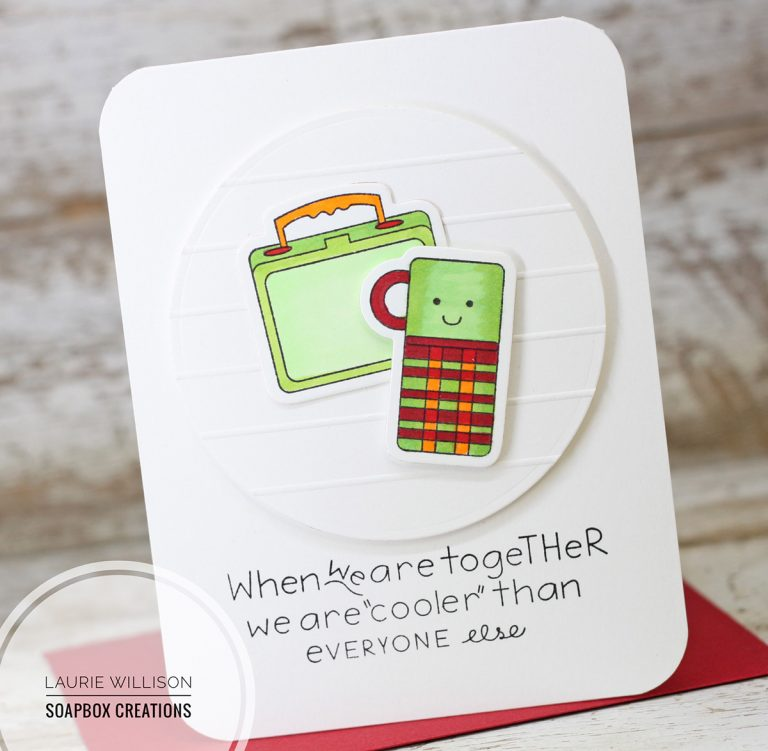 When We Are Together Card by Laurie Willison for Spellbinders using SDS-120 Love Bunch, SDS-114 Wink Wink, S5-325 Shapeabilites Match Book Dies from the Love Set Match collection by Debi Adams #cardmaking #spellbinders #stamping #handmadecard #diecutting