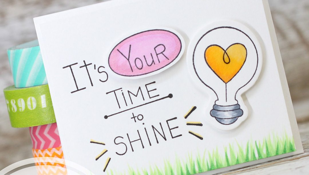 It's Your Time To Shine Matchbook by Laurie Willison for Spellbinders using SDS-120 Love Bunch, SDS-114 Wink Wink, S5-325 Shapeabilites Match Book Dies from the Love Set Match collection by Debi Adams #cardmaking #spellbinders #stamping #handmadecard #diecutting