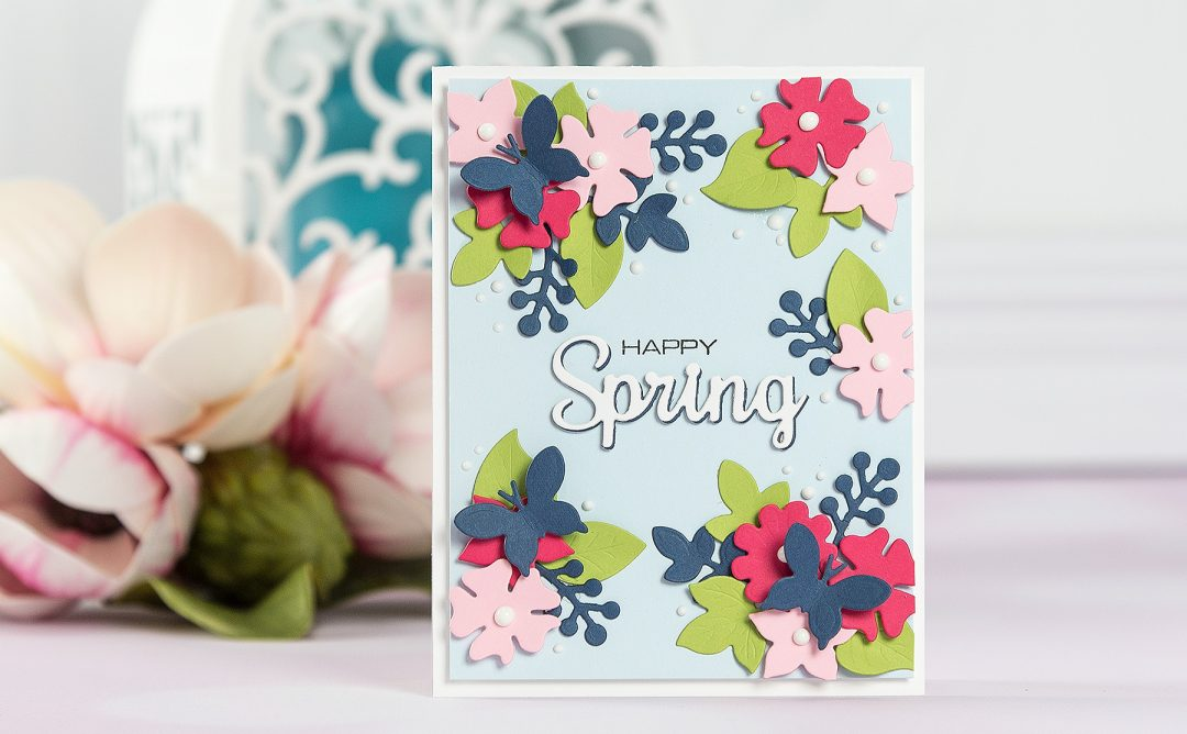 Cardmaking Inspiration | Happy Spring Card
