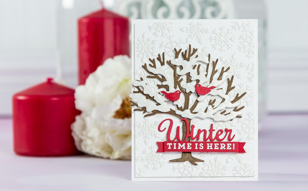 Quick Technique | Winter Time Is Here Card