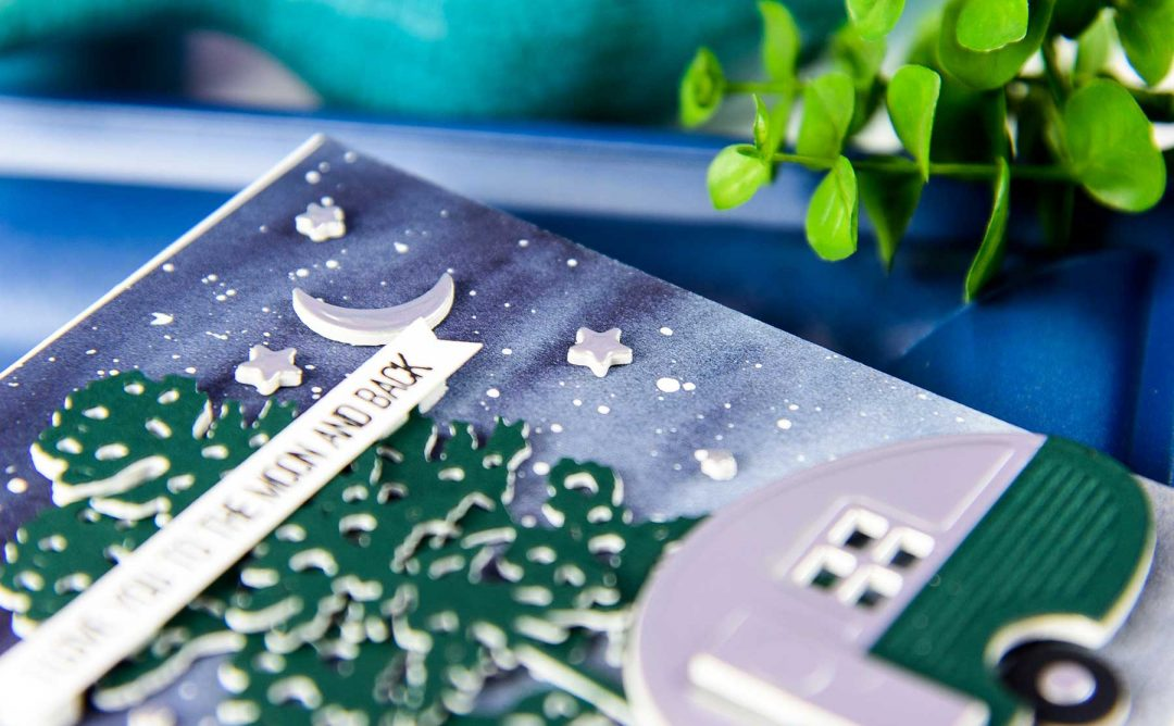 Cardmaking Inspiration | Love You To The Moon & Back