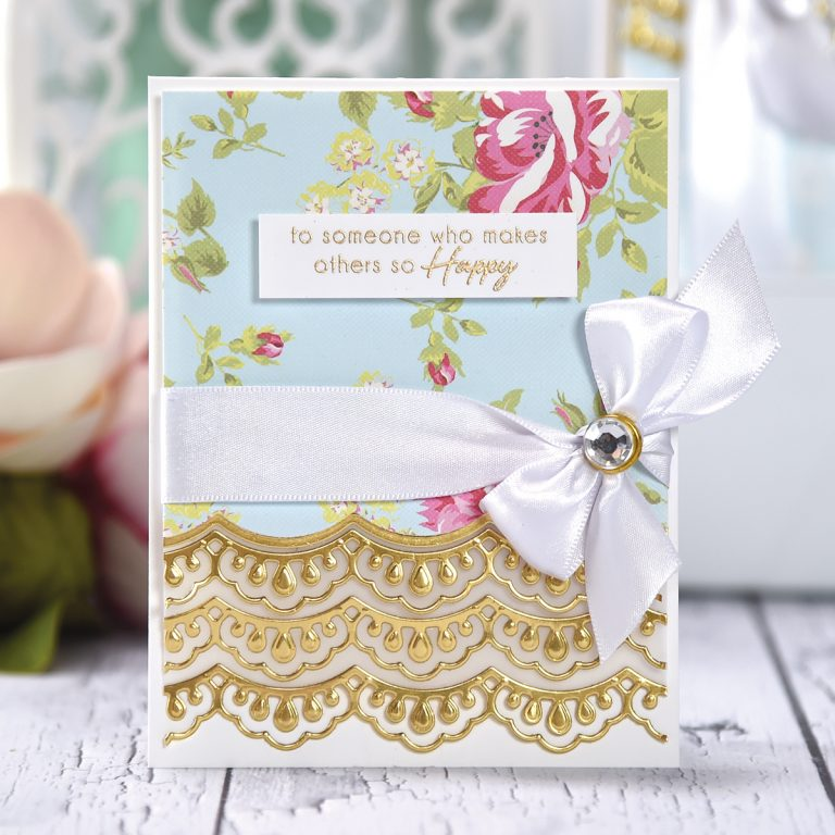 Spellbinders February 2018 Small Die of the Month is Here! #neverstopmaking #SpellbindersClubKits #spellbinders #diecutting #diecutclub #cardmaking
