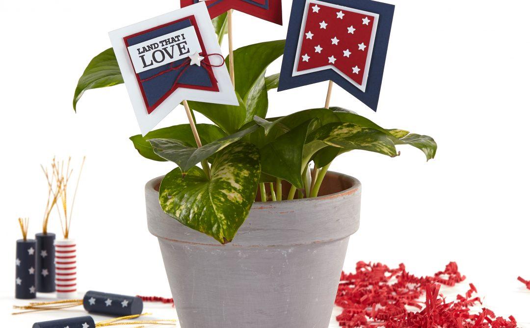 Patriotic DIY Centerpiece