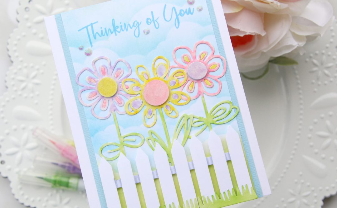 Die D-Lites Inspiration | Floral Thinking Of You Card with Brenda