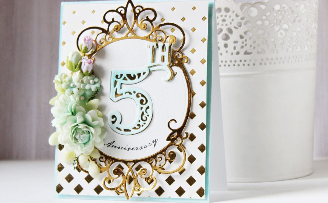 Elegant 3D Vignettes Inspiration | Anniversary & Baby Shaker Cards with Hussena