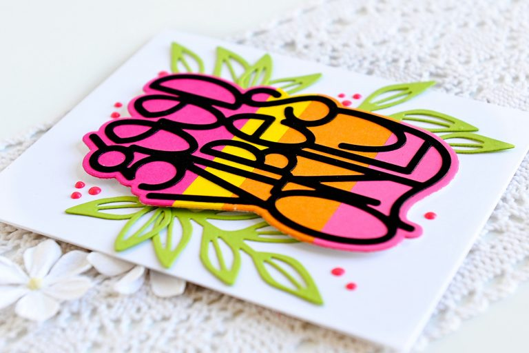 Good Vibes Only Collection by Stephanie Low - Inspiration   Good Vibes Only Cards with Kay for Spellbinders using S2-294 Petal'd Poetry, S4-918 Good Vibes Only, S5-353 Leaves So Very Gorgeous #spellbinders #diecutting #handmadecard #neverstopmaking #cleanandsimplecard