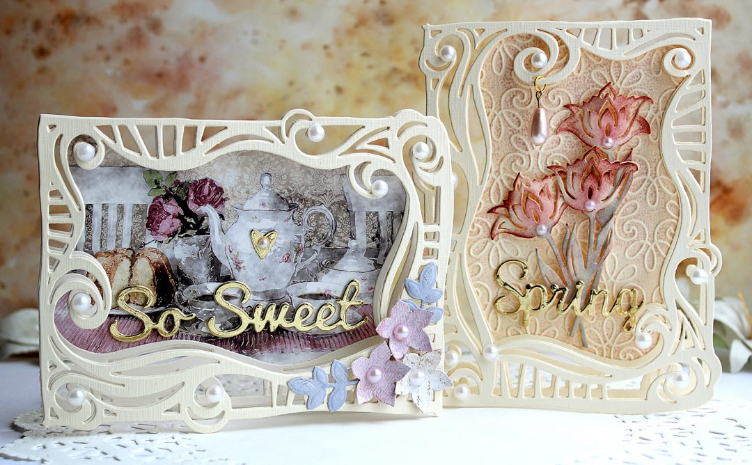 Video Friday | Swirl Frame Cards with Olga