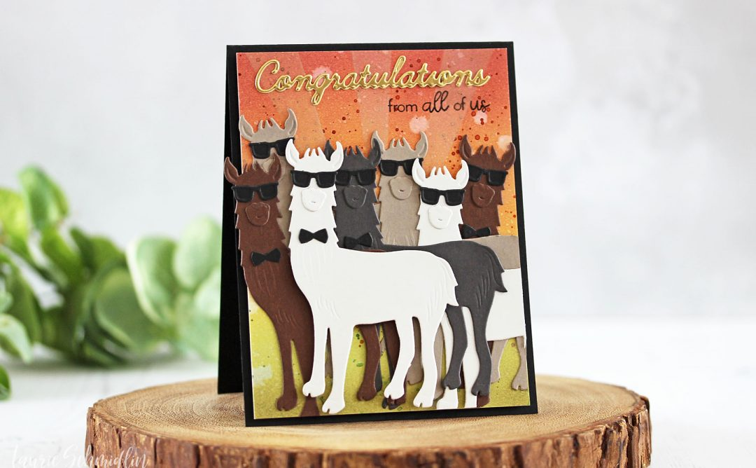 Die D-Lites Inspiration | Hip Llama Card with Laurie