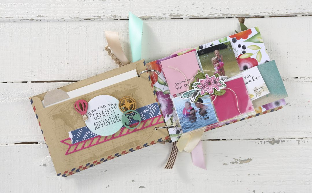 How to Make an Airmail Mini Album