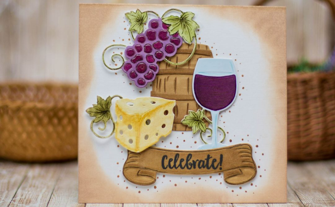 Cardmaking Inspiration | Wine Country Celebrate Card