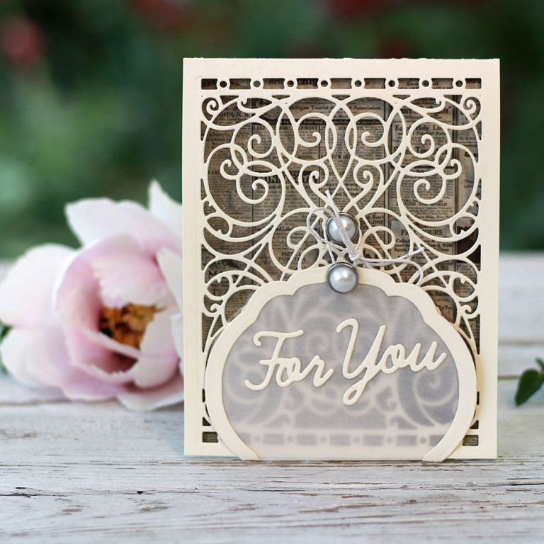 Video Friday   Shabby Chic Cards with Olga Direktorenko for Spellbinders using: S4-563 Phrase Set One, S4-564 Phrase Set Two, S4-916 Blooming Rose, S4-930 Curvy Labels, S5-131 A-2 Matting Basics A, S5-366 Swirl Background, SDS-134 Wine Glass Bottle Tag #spellbinders #diecutting #handmadecard #neverstopmaking #amazingpapergrace