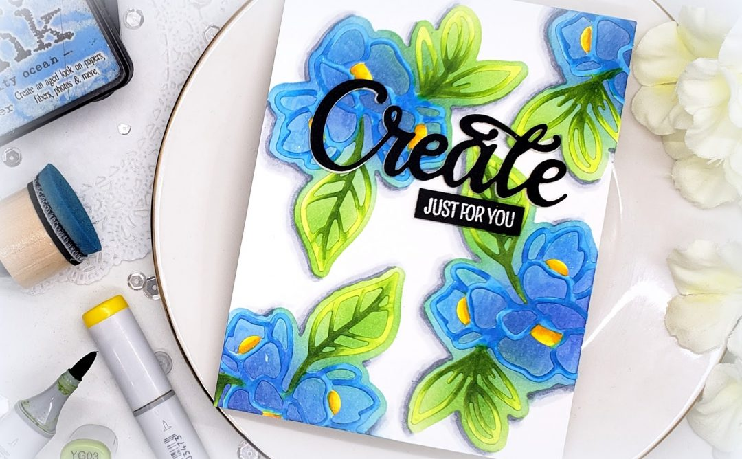 Video Friday | Create a Stencil using Die Cuts with Kelly Latevola