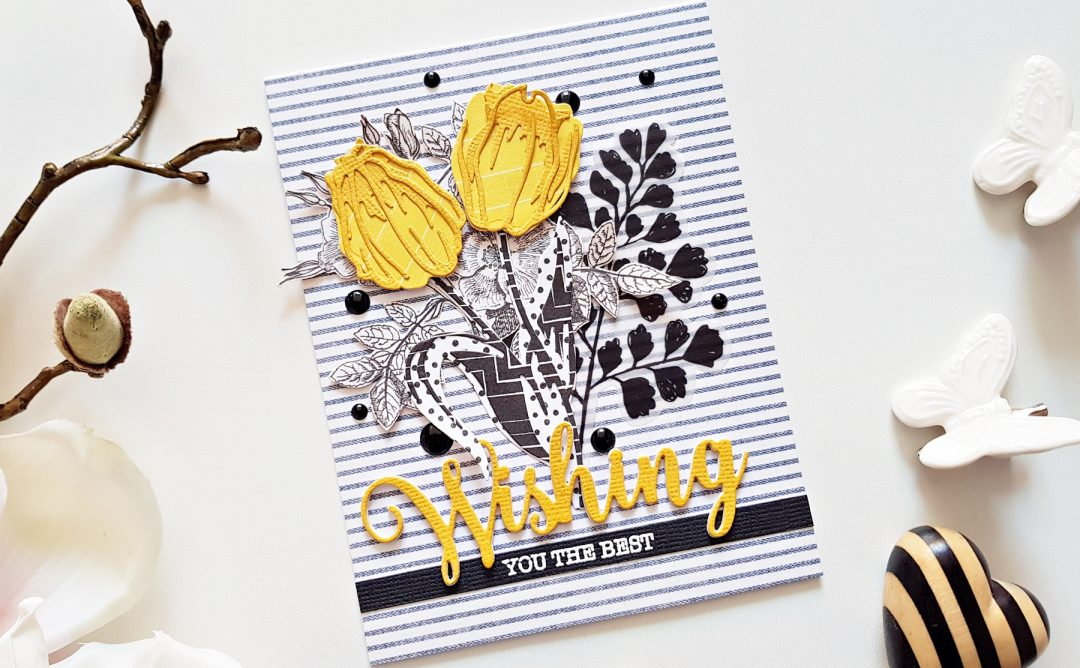 Exclusive Indie Collection Inspiration | Layered Tulips Cards  with Zsoka