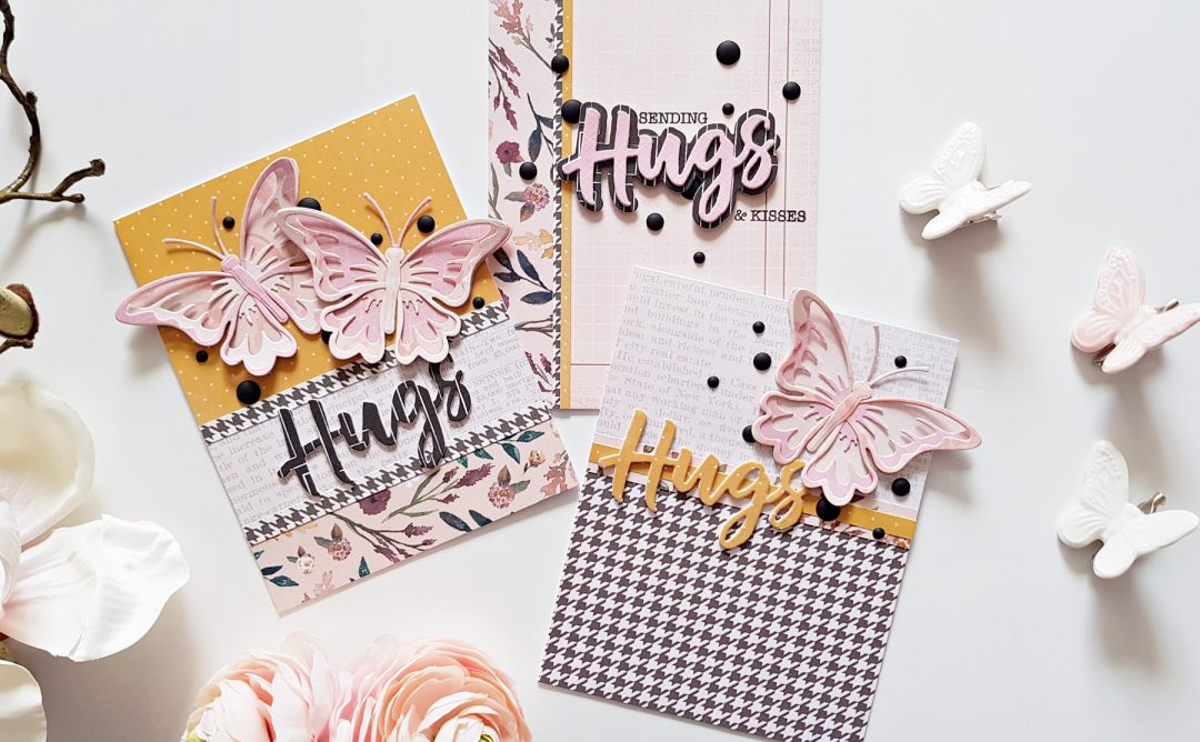 Exclusive Indie Collection Inspiration | Beautiful Hugs Cards with Zsoka