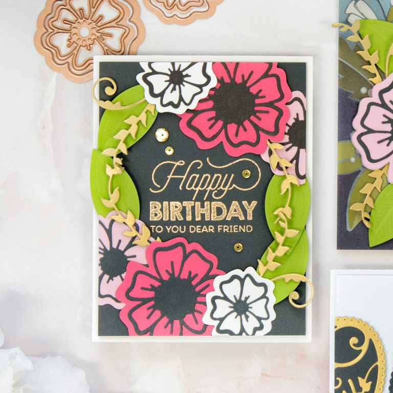 Spellbinders July 2018 Small Die of the Month is Here! #spellbindersclubkits #cardkit #cardmakingkit #cardmaking #spellbinders #neverstopmaking