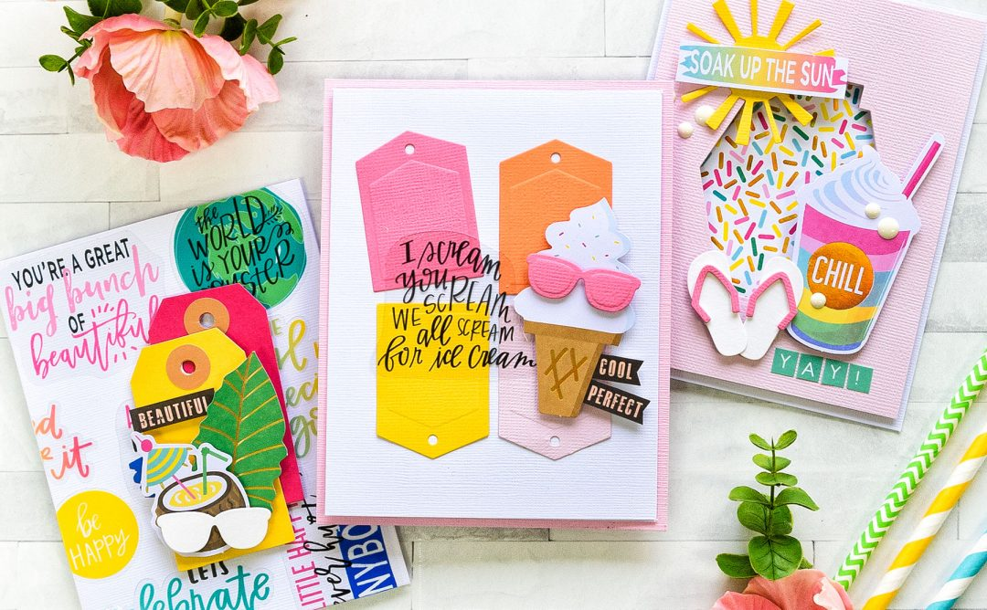 Spellbinders July 2018 Card Kit of the Month is Here! #spellbindersclubkits #cardkit #cardmakingkit #cardmaking #spellbinders #neverstopmaking
