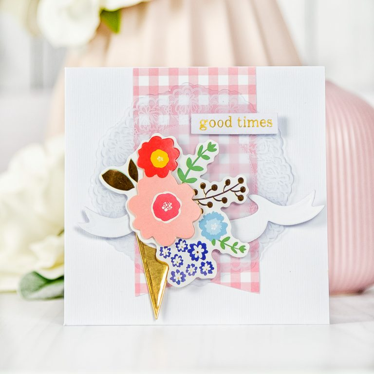 Spellbinders June 2018 Card Kit of the Month is Here! #spellbindersclubkits #spellbinders #cardmakingkit #cardkit
