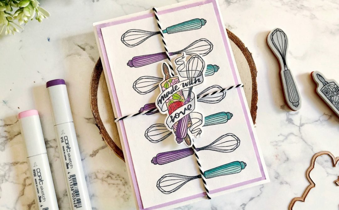 Spellbinders Handmade Collection by Stephanie Low - Inspiration | Recipe Card Gift Set by Ashlea #spellbinders #neverstopmaking #stamping #handmade
