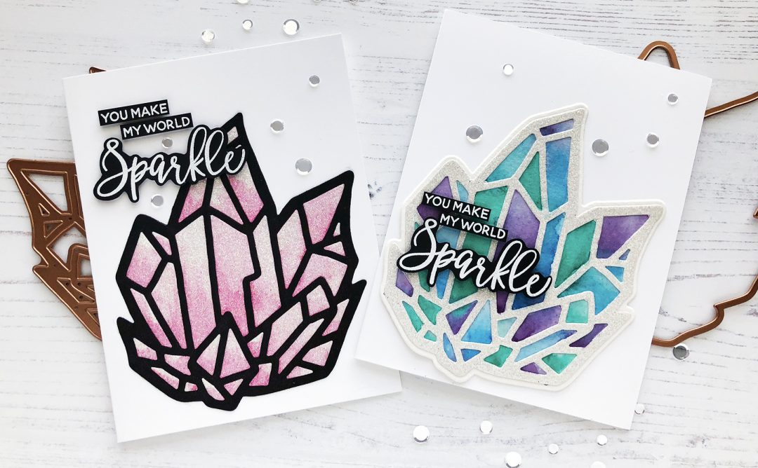Good Vibes Only Inspiration | Watercolor Background Cards with Caly