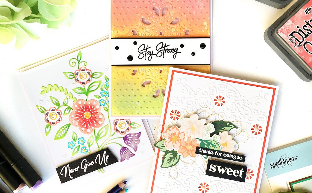 Cut & Emboss Folders Inspiration | More Everyday Cards With Enza