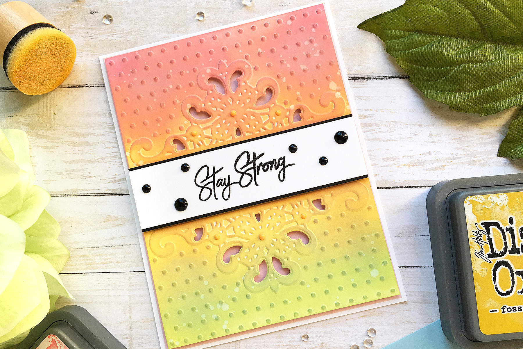 Spellbinders Cutting Embossing Folders-Dotted Lace